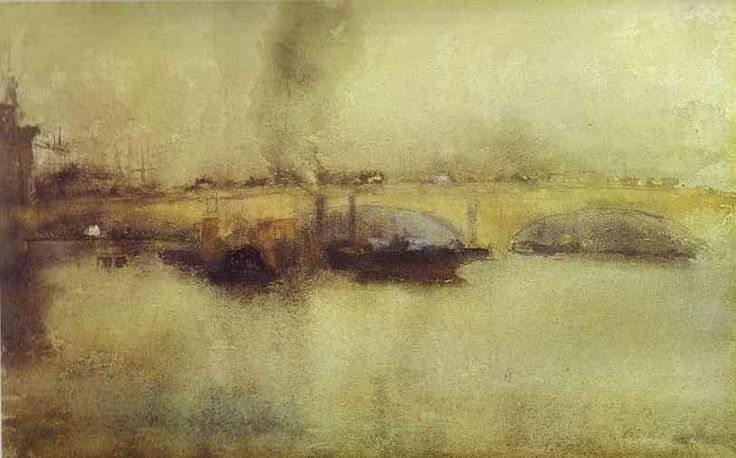 London Bridge (1885) - James Abbott McNeill Whistler