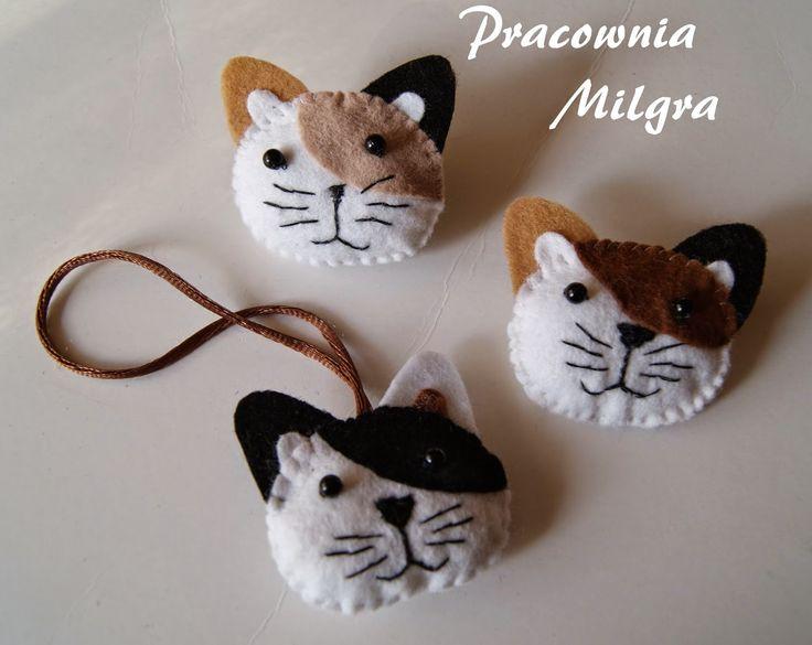 Pracownia Milgra: Aaa kotki... trzy