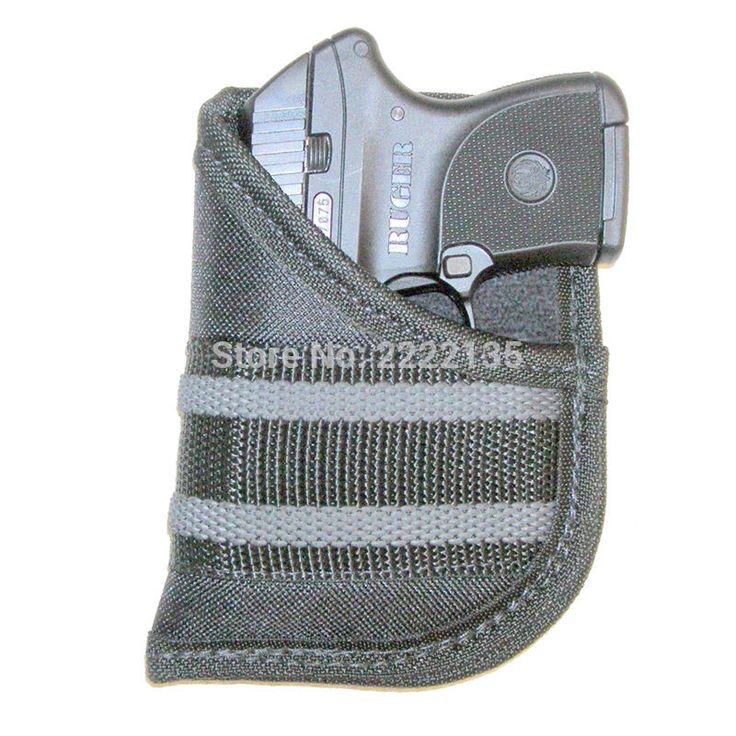Tactical Nylon Handgun Bag Pocket Pistol Holster EDC Conceal Carry Small 22-25 Autos Gun Pouch Airsoft Shooting Accessories.