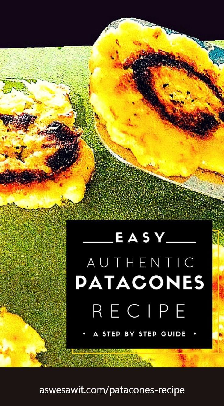 15 best panama food recipes images on pinterest cooking food easy recipe from panama for fried green plantains also known as patacones or tostones forumfinder Image collections