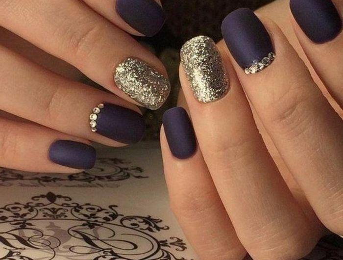 Deco nail art noel