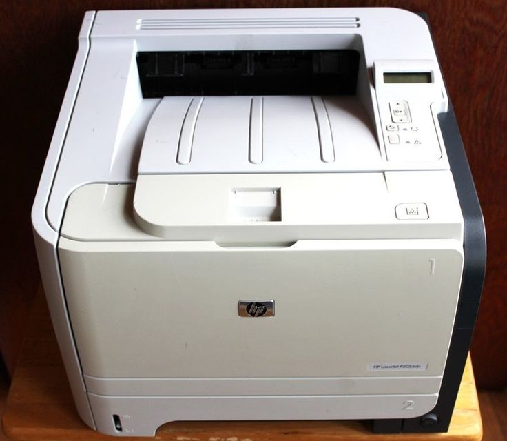 HP LaserJet P2055DN Monochrome Workgroup Laser Printer Network and USB Printing #HP