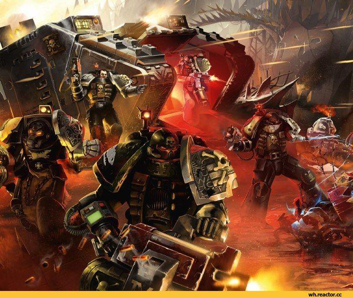 Warhammer-40000-фэндомы-Eldar-Tau-Empire-3280295.jpeg (705×581)