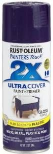 Rust-Oleum Painter'S Touch Gloss Purple Spray Paint 340 ml Price in India - Buy Rust-Oleum Painter'S Touch Gloss Purple Spray Paint 340 ml online at Flipkart.com - Rs. 540