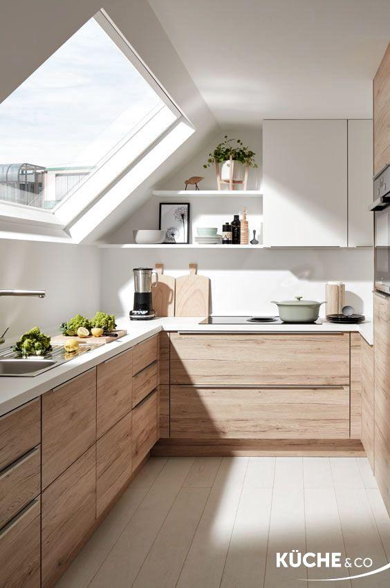 holzküche | moderne küche | einbauküche | griffe | design