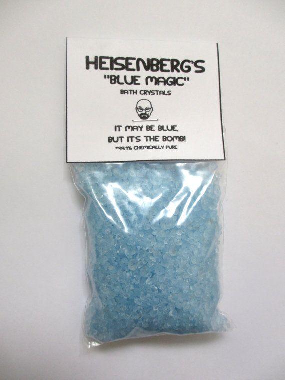 Heisenbergs blue magic bath salt crystals  di rudeandreckless, $6.00