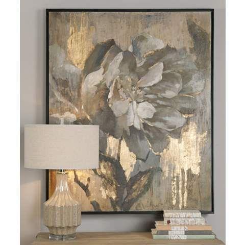 "Uttermost Dazzling 51 1/4"" High Canvas Wall Art - #1G996 | LampsPlus.com"