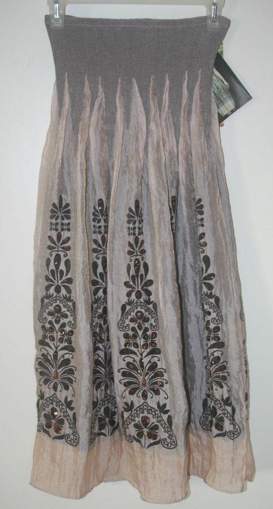 Lapis Convertible Strapless Maxi Dress Skirt One Size OSFM New #Lapis #Anthropologie #SummerBeach