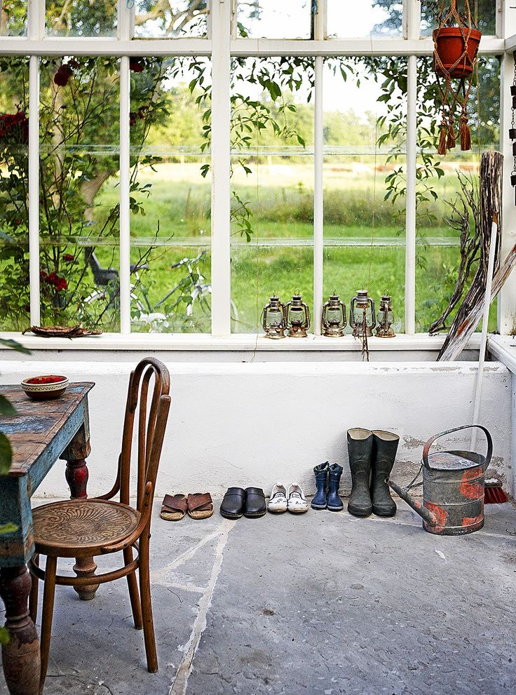 The bohemian summer home of a Swedish fashion photographer: