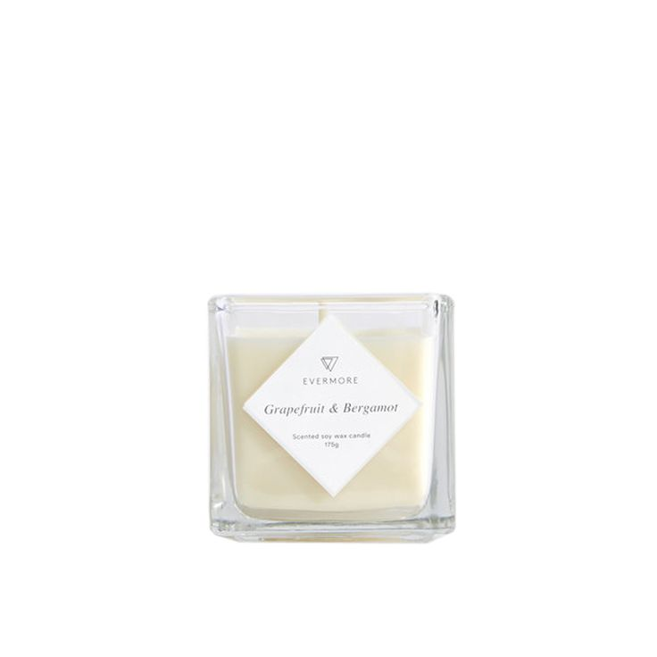 The Grapefruit & Bergamot Candle by Evermore is perfect for those who have a slightly sweet nose, this fruity burst will satisfy those cravings. Sweet grapefruit essential oil will lift and refresh, whilst bergamot and a touch of English rose provide a floral top note. A real room filler, perfect for when you have guests. Grapefruit & Bergamot Candle by Evermore is available at Osmology. Shop your favourite boutique scented candles and home fragrance brands in one place.