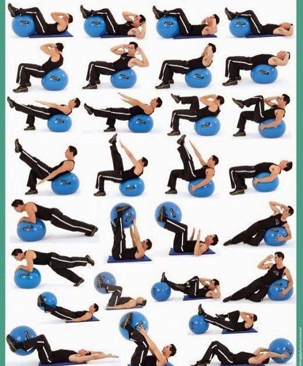セルフボールエクササイズ2  Self balance ball exercise work out2 #バランスボール #自重トレーニング #ストレッチ…