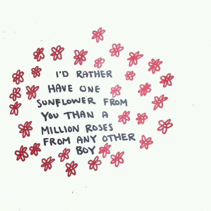 This so applies to me! (sunflowers are my fave) #love #romance #quote