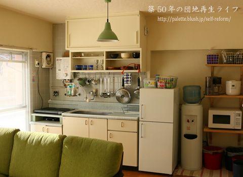 2014年 リビング×キッチン http://palette.blush.jp/self-reform/2014/01/2014.html