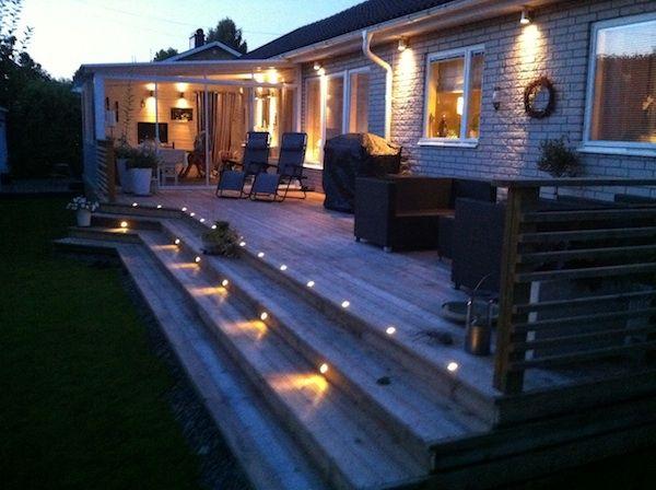 10kit Altanbelysning small LED IP44  Terass belysning  Outdoor gardens Garden inspiration