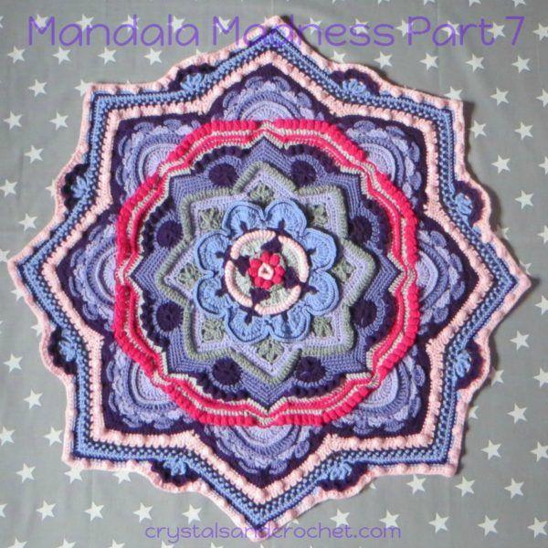 Mandala Madness CAL 2016 http://www.crystalsandcrochet.com/crochets/mandala-madness-cal-2016/