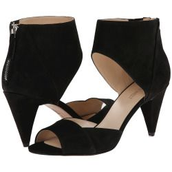 Nine West - Lildarlin (Black Nubuck) Women's 1-2 inch heel Shoes