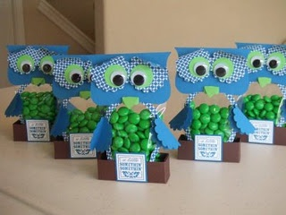 Owl Candy Holders @ Dora Ramirez...thought of you!