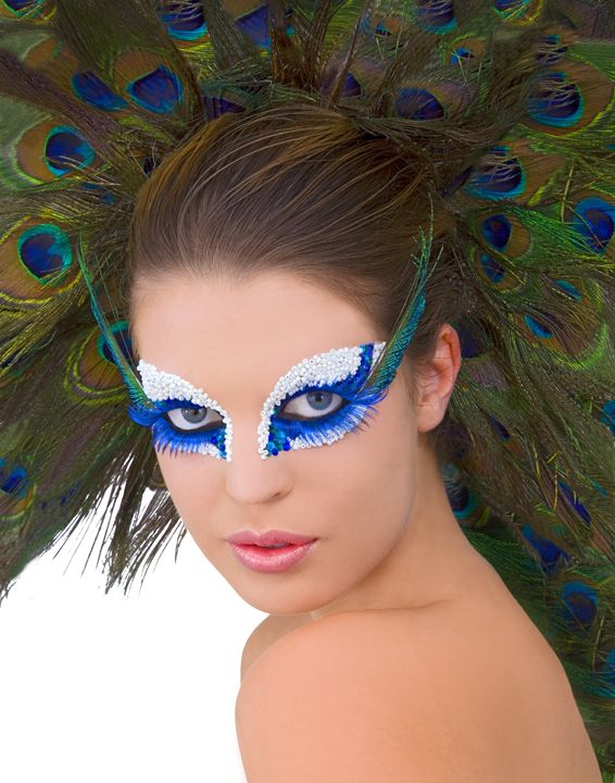 105 best images about Aveda on Pinterest   The hunger game ... Peacock Fantasy Makeup