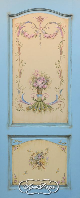 "Дверь  ""Павлин -Мавлин"" http://www.artflera.ru/image/tid/3"