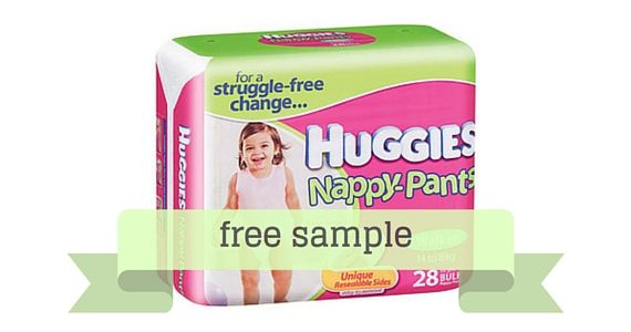 Get a Free Sample of Huggies Nappy Pants