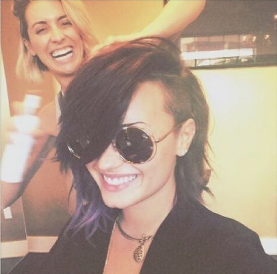 Demi Lovato Chopped Her Hair Into A Long Bob, But Is Already Bored With It