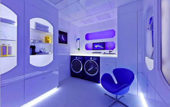 cool laundry room..