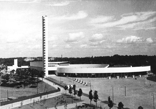 Helsinki Olympic stadium Yrjö Lindegren, Toivo Jäntti, 1938
