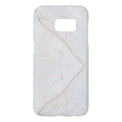 Stylish Marble Stone Samsung Galaxy S7 Case - marble gifts style stylish nature unique personalize