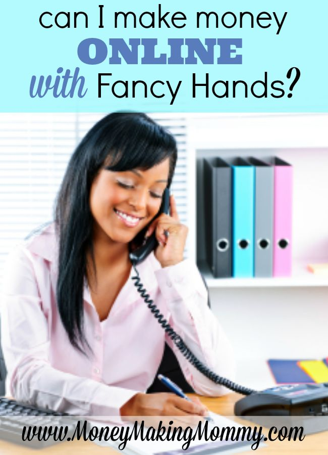 If you're looking for work at home and the idea of being a virtual assistant appeals to you -  you'll want to check out this full review of Fancy Hands at MoneyMakingMommy.com.