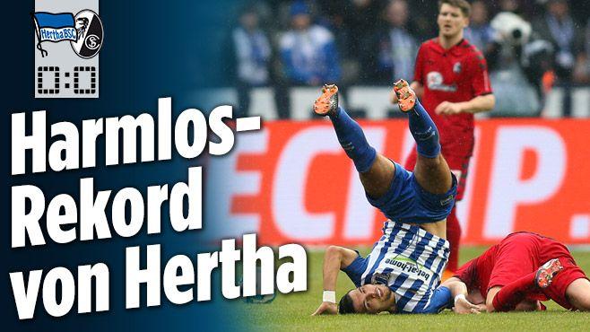 Hertha BSC gegen SC Freiburg - Bild.de