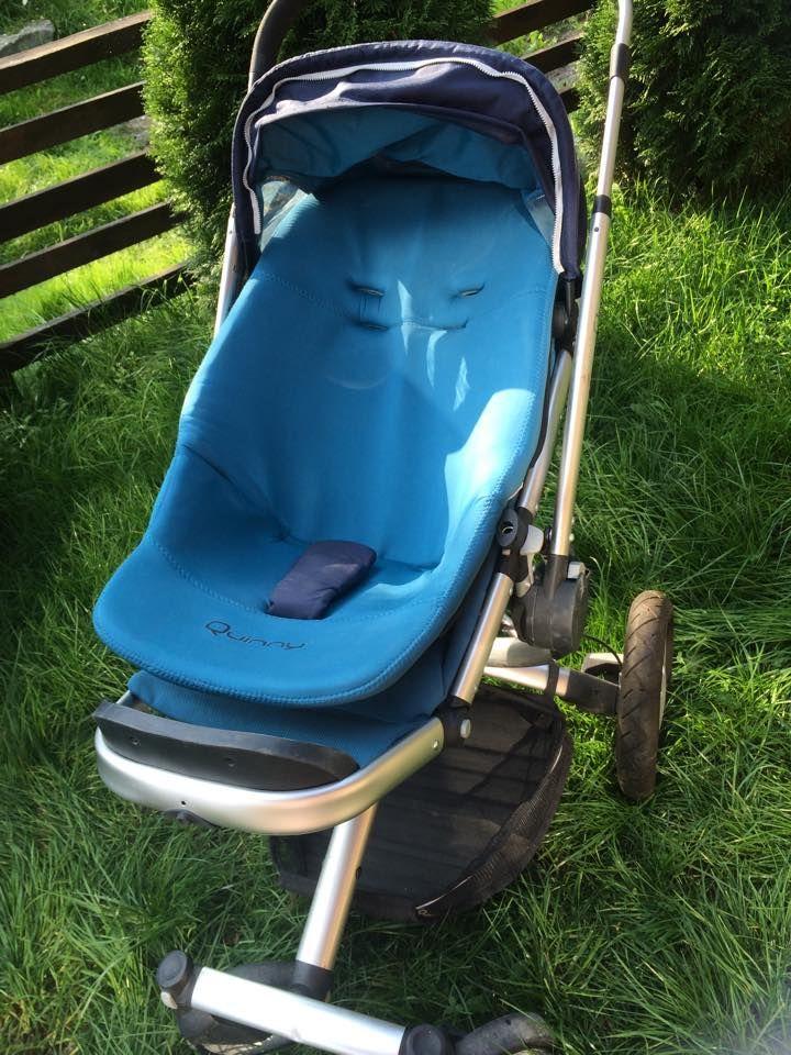 Witam oferuję wózek firmy Quinny wraz z nosidełkiem. Stan wózka oceniam jako bdb