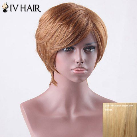 GET $50 NOW   Join RoseGal: Get YOUR $50 NOW!http://www.rosegal.com/human-hair-wigs/short-side-bang-straight-siv-827145.html?seid=4695937rg827145