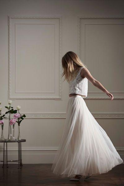 Brautkleider: Needle & Thread für Net-a-Porter