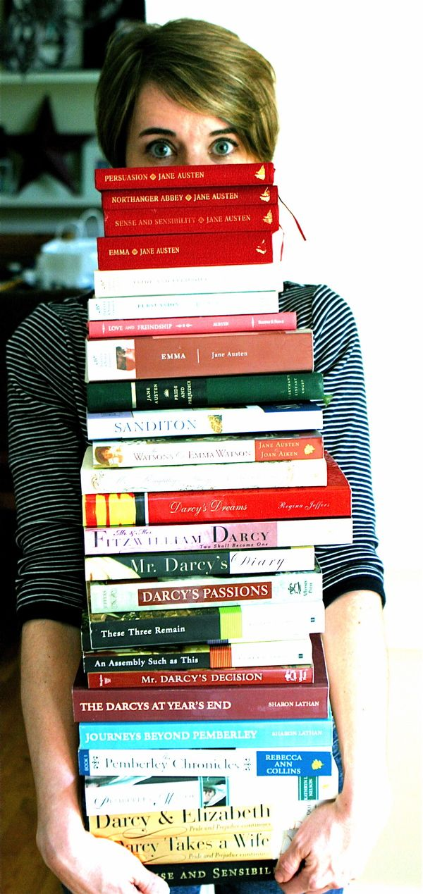 One woman's obsession into Austen, and her many recently written spin-offs to her novel Pride and Prejudice. She gets it... I'm not crazy! lol.