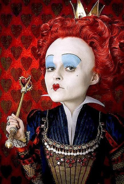 Helena Bonham Carter as The Red Queen in Alice in Wonderland (2010)