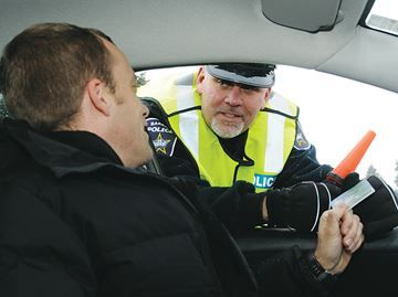Barrie Police keeping an eye on drivers with drink, drugs tonight - The Barrie police will be out checking for impaired drivers tonight. Sgt. Glen Furlong, right, is in charge of the R.I.D.E. program.