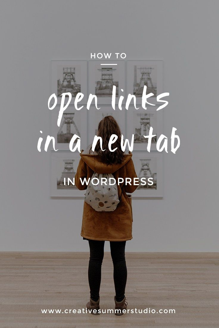 As a blogger, you need to know how to keep your readers on your blog and how to improve your visual marketing. Learn how to open links in new tab in WordPress to not make your readers leave your blog faster than they would want.