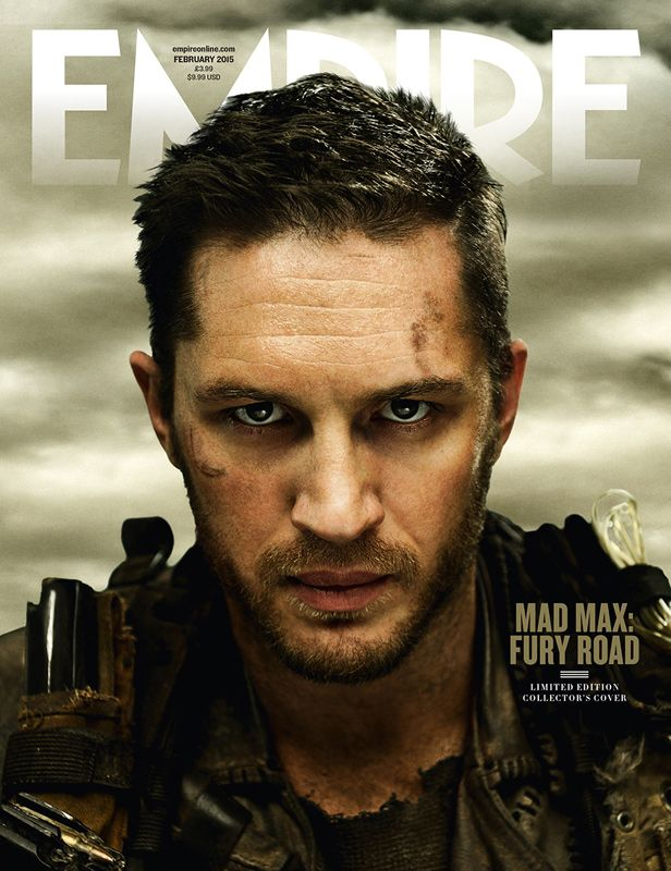 MAD MAX: FURY ROAD - I can't wait for this movie. Oh Tom......