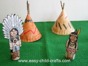 Plains Native American printables