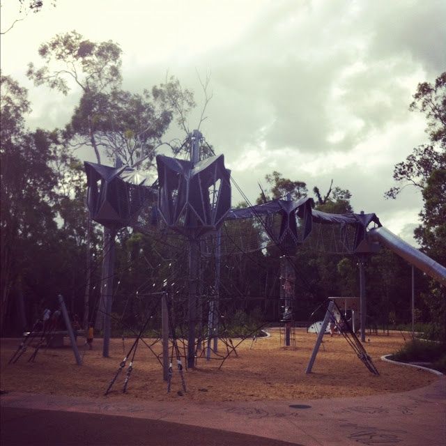 Seven Cherubs: Hidden Brisbane Playground: Calamvale District Park  Formby Road, Calamvale