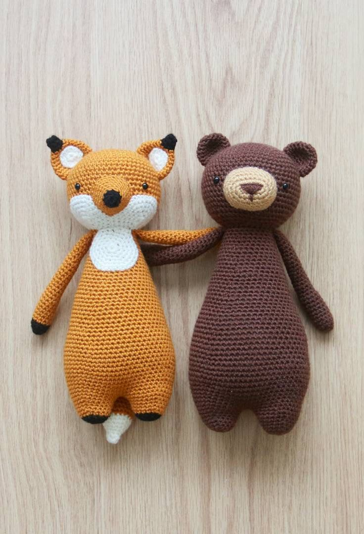Free Crochet Patterns For Animals : 25+ best ideas about Crochet Toys Patterns on Pinterest ...