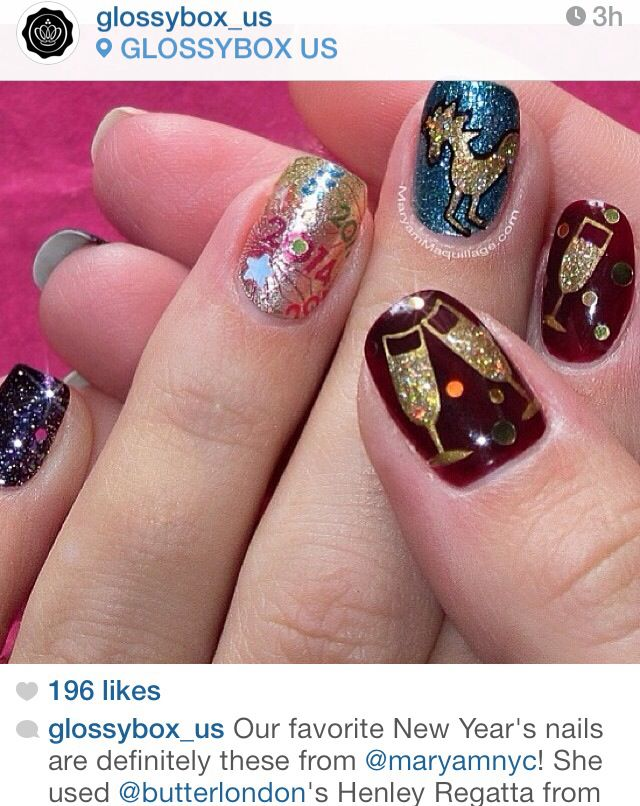 Diy Nail Designs For New Years ~ the best inspiration for design and ...