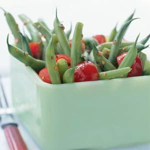 Green Bean and Cherry Tomato Salad | MyRecipes.com #myplate # ...