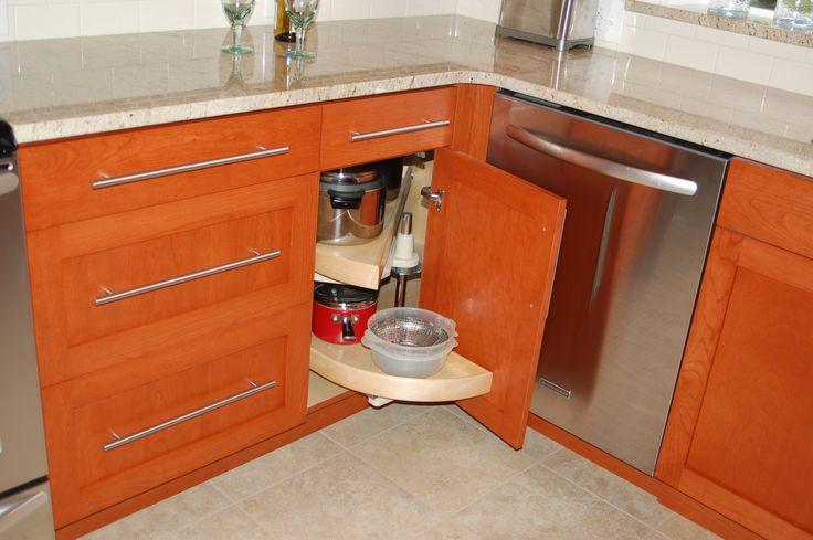 Best Corner Cabinet Storage Solutions Upper Kitchen 400 x 300