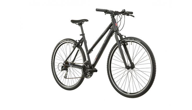 Serious Cedar Hybrid - VTC Femme - noir - Boutique de vélos en ligne - bikester.fr