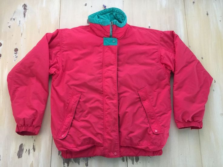 PATAGONIA: Vtg 90s Womens Hot Pink, Teal & Purple Puffy Winter Ski Snow Coat, 10   Clothing, Shoes & Accessories, Women's Clothing, Coats & Jackets   eBay!