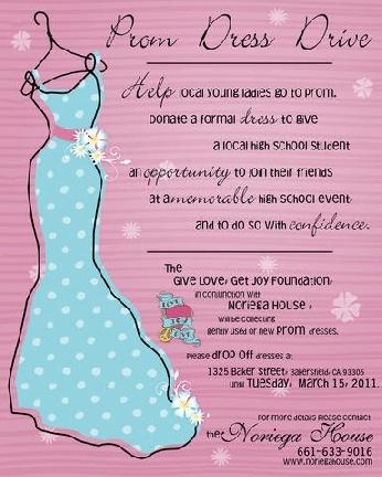 prom dress donation bakersfield california