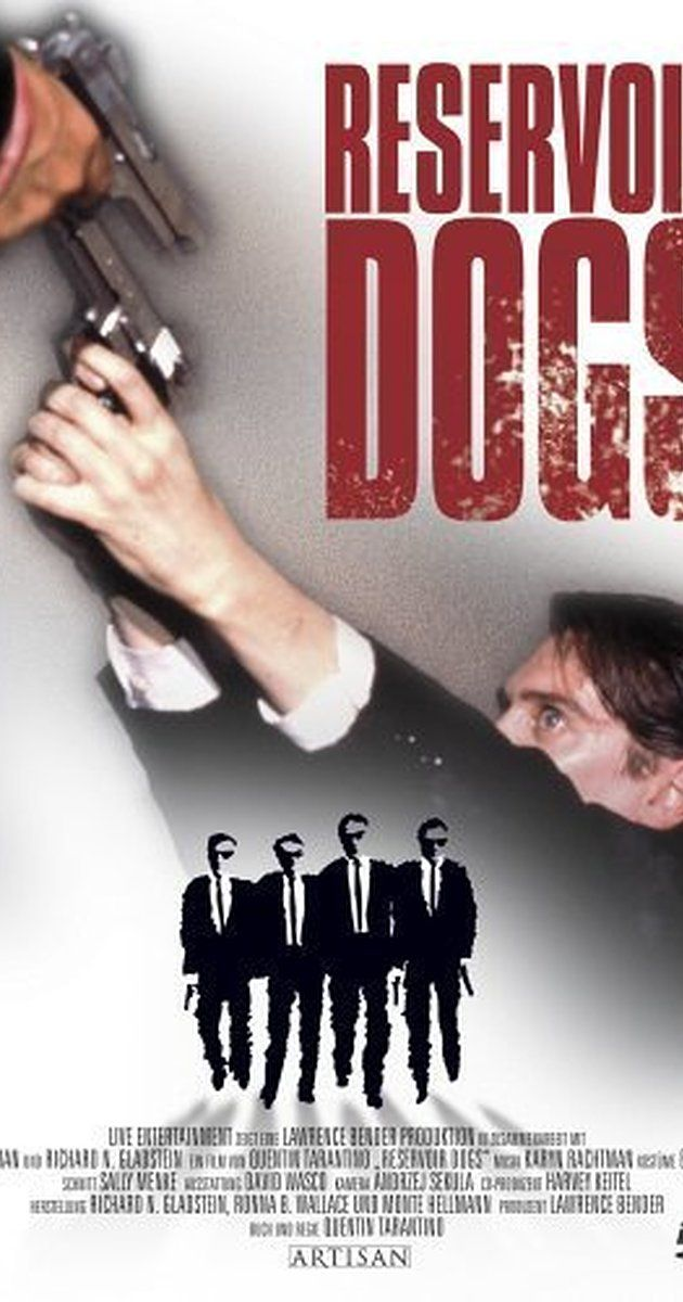 Directed by Quentin Tarantino.  With Harvey Keitel, Tim Roth, Michael Madsen, Chris Penn. After a simple jewelery heist goes terribly wrong, the surviving criminals begin to suspect that one of them is a police informant.