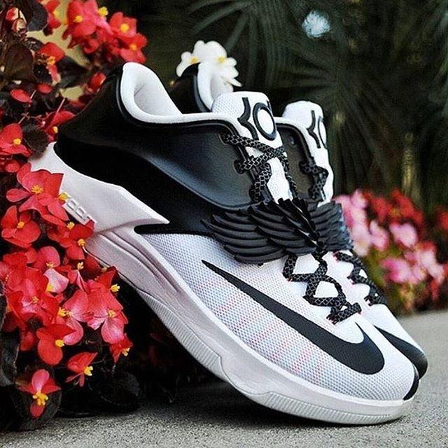 Cheap New Style Nike KD 7 Cheap sale CNVS University Red Black W