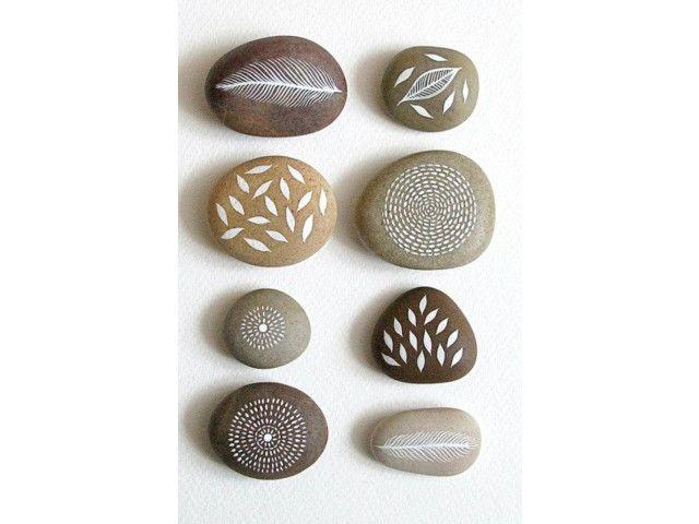 50 idées pour créer belles pierres peintes